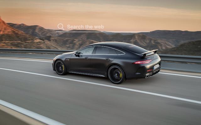 2019 Mercedes AMG GT Wallpaper Tab Theme