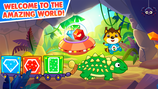 Dinosaur games for kids and toddlers 2 4 years old Apk 1