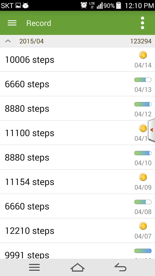 Pedometer For Health Care Android Apps On Google Play