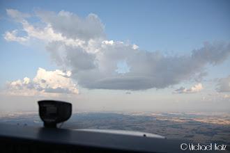 Photo: En tunnell i skyen. Hvorfor fløy du ikke gjennom den, Ola?