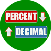 Percent to Decimal Converter icon
