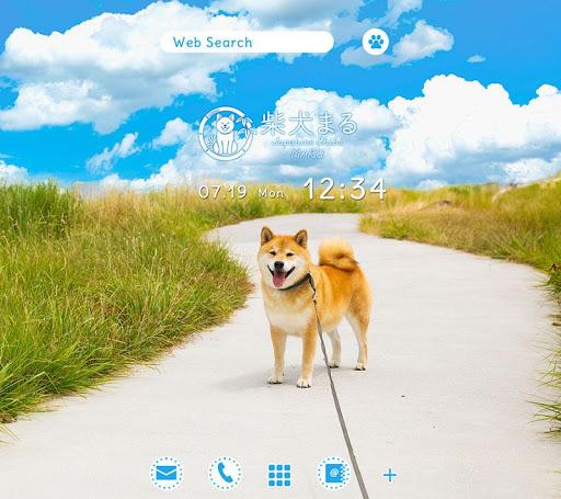 跟柴犬MARU散步去!+HOME换装主题