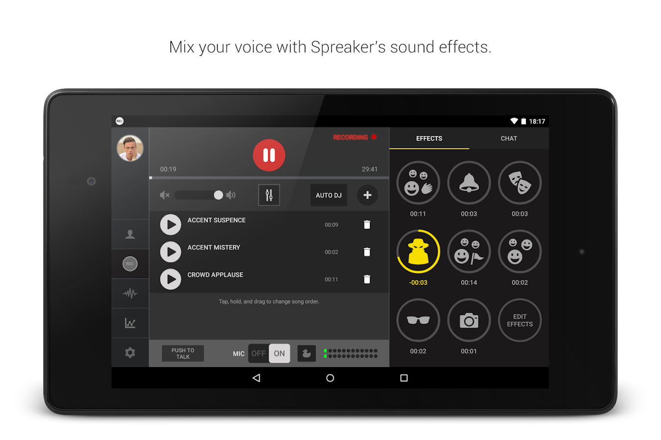 Spreaker Studio- screenshot