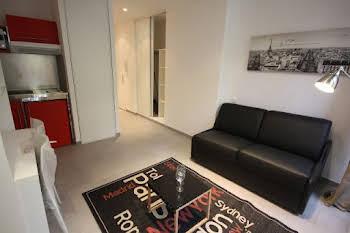 Studio meublé 18,2 m2
