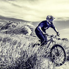 Downhill by Lee Miko - Sports & Fitness Cycling ( #extremesport #downhill #bike )