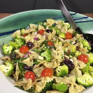 Mediterranean Broccoli Pasta Salad.
