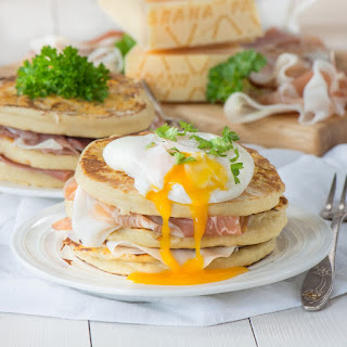 Grana Padano & Potato Pancakes with Prosciutto Di San Daniele Recipe