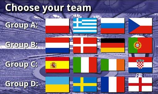 EURO 2012 Football/Soccer Game 1.0.5 screenshots 1