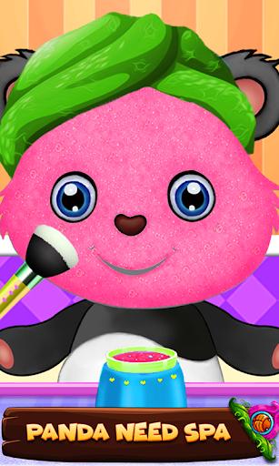 Cute Panda Cleanup Salon: Panda Wash & Makeup Spa 1.0 screenshots 3