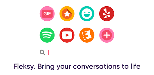 Fleksy Emoji Gif Keyboard App Apps On Google Play
