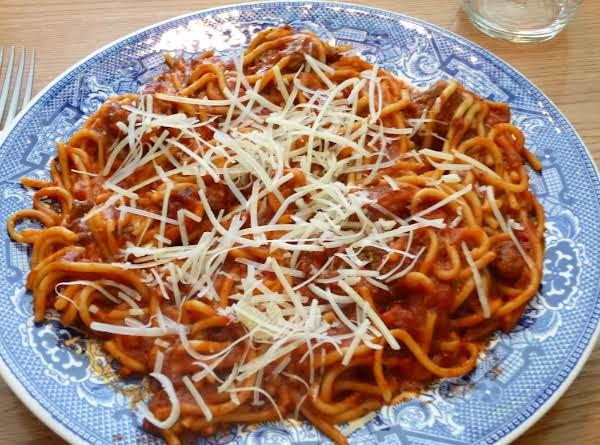 Nancy's Spaghetti Recipe