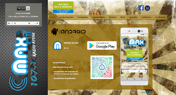 Max FM 107.1 Radio Ayegui - náhled