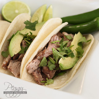 Mexican Carnitas Tacos {Electric Pressure Cooker Recipe}
