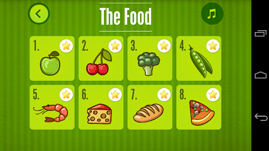 Puzzle for Kids : The Food- screenshot thumbnail