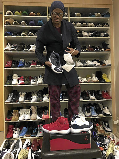 fd704a4adb6b Mzansi s Malcolm X shows off his pricey sneakers