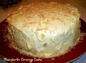 Mandarin Orange Cake -  From Scratch
