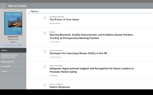 Association of periOperative Registered Nurses- screenshot thumbnail