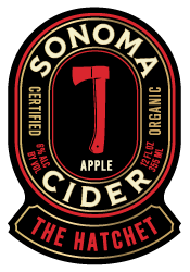 Logo of Sonoma Cider The Hatchet - Apple Cider