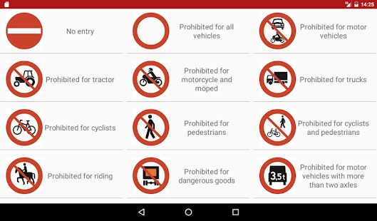 Norwegian Traffic Signs Apps On Google Play