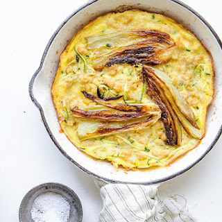 Chicken Frittata with Roasted Fennel and Zucchini Recipe