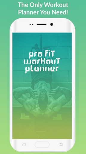 Pro Fit Workout Planner screenshot 1