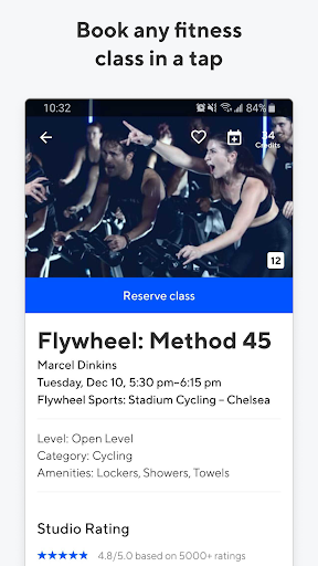 ClassPass: Try Fitness - Boxing, Yoga, Spin & More - screenshot