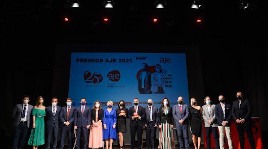 La Asociación de Jóvenes Empresarios celebran el 15º aniversario de sus premios