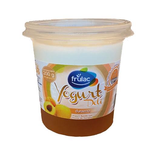 Yogurt Frulac Durazno 200Gr