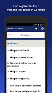 Oxford Learner's Quick Grammar- screenshot thumbnail