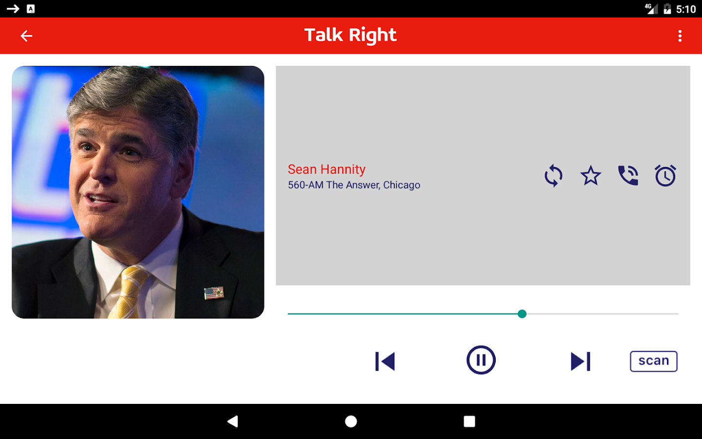 Talk Right - Conservative Talk Radio- screenshot