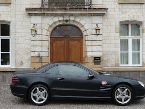Photo: Mercedes SL55 AMG at Chateau de Cocove