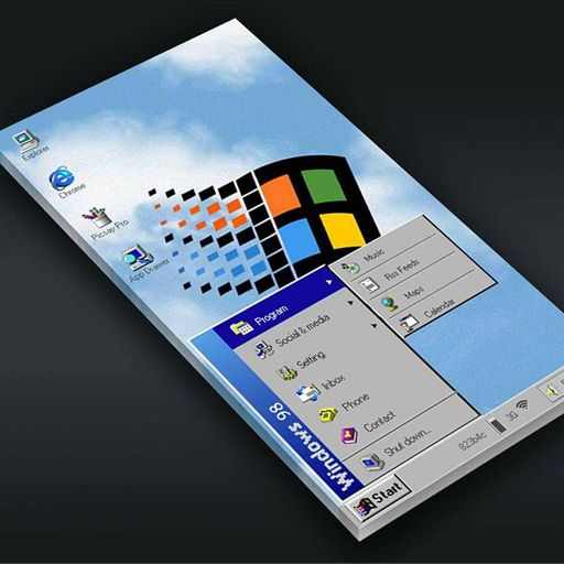 Windows 98 for klwp