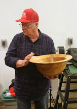 "Photo: Bob Grudberg - cherry bowl 19""x8"""