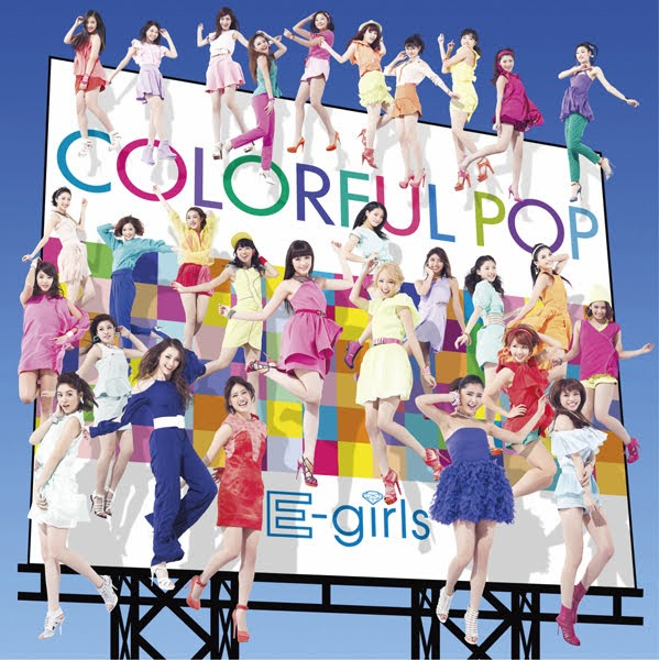 "Capa do álbum ""COLORFUL POP"" – CD Only Edition."