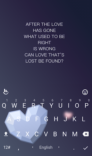 Love To Be Found Keyboard