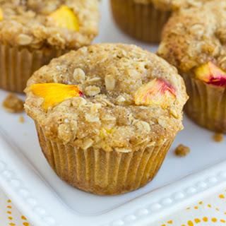 Gluten-Free Peach Streusel Muffins {Dairy-Free}