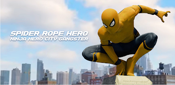 How to Download and Play Spider Rope Hero - Gangster New York City on PC, for free!