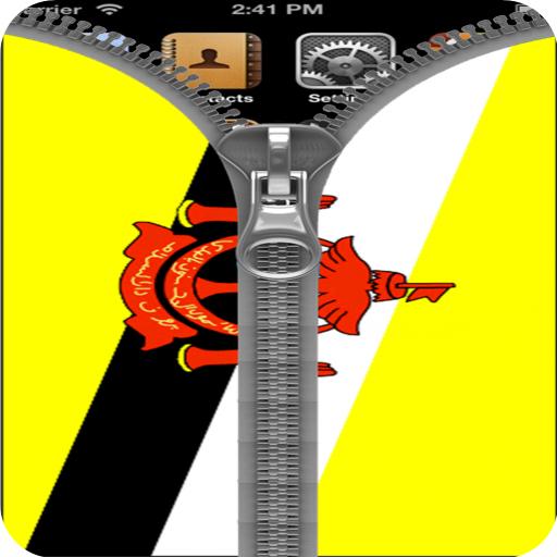 Brunei flag Zipper Screenlock