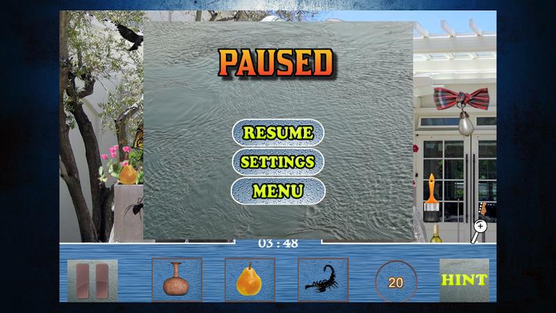 Скриншот Hidden Objects - The Fountain