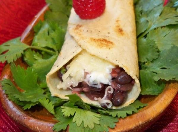 Raspberry Chipotle Burritos Recipe