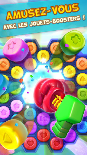 Toy Party: Jeu De Match 3 Dans Six Directions  captures d'écran 4
