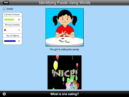Identifying Foods Using Words Lite Version- screenshot thumbnail