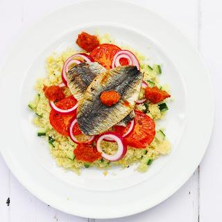 Couscous Sardine Salad Recipe