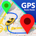 GPS Route Finder-Compass & Speedometer Navigation icon