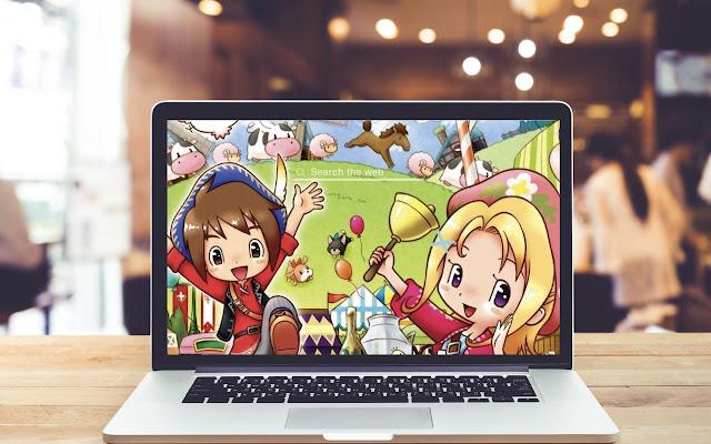 Harvest Moon Mad Dash HD Wallpaper Game Theme