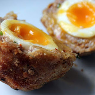 Gluten Free Baked Scotch Eggs
