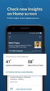 Naukri.com Job Search App: Search jobs on the go! Screenshot
