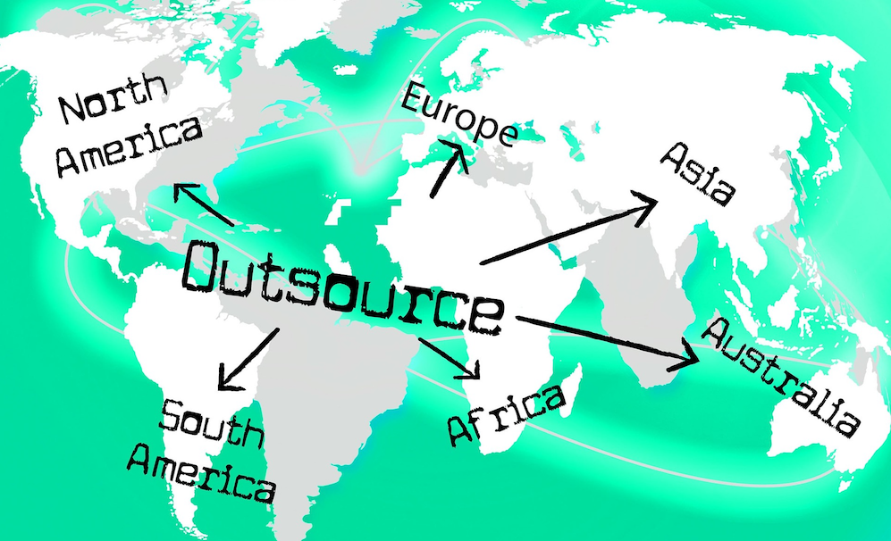 Outsourcing Map