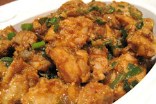 Chilly Chicken With Sauce