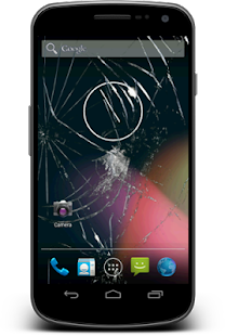 SoftCrack - Cracked Screen Prank Fun Screenshot